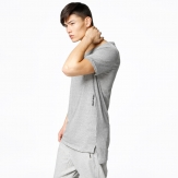 T Shirt Sweet Sktbs moda Slit tall Grey